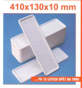 Plastový podnos (410 x 130 x 10 mm) | www.strakastavoplast.cz