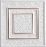 Stropní kazety – Antik – hnědý potisk (50 x 50 x 2 cm) | www.strakastavoplast.cz