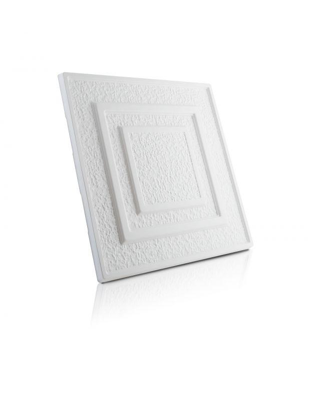Stropní kazety – Antik Standard (50 x 50 x 2 cm)   www.strakastavoplast.cz