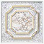 Stropní kazety – Barok Exclusive (50 x 50 x 2 cm) | www.strakastavoplast.cz