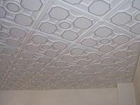 Stropní kazety – Barok malý – černý potisk (50 x 50 x 2 cm) | www.strakastavoplast.cz