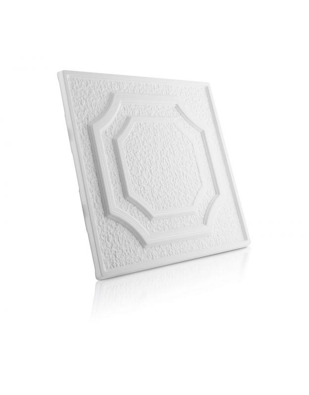 Stropní kazety – Barok Standard (50 x 50 x 2 cm) | www.strakastavoplast.cz
