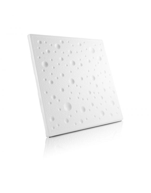 Stropní kazety – Bublinky Jemné (50 x 50 x 2 cm) | www.strakastavoplast.cz